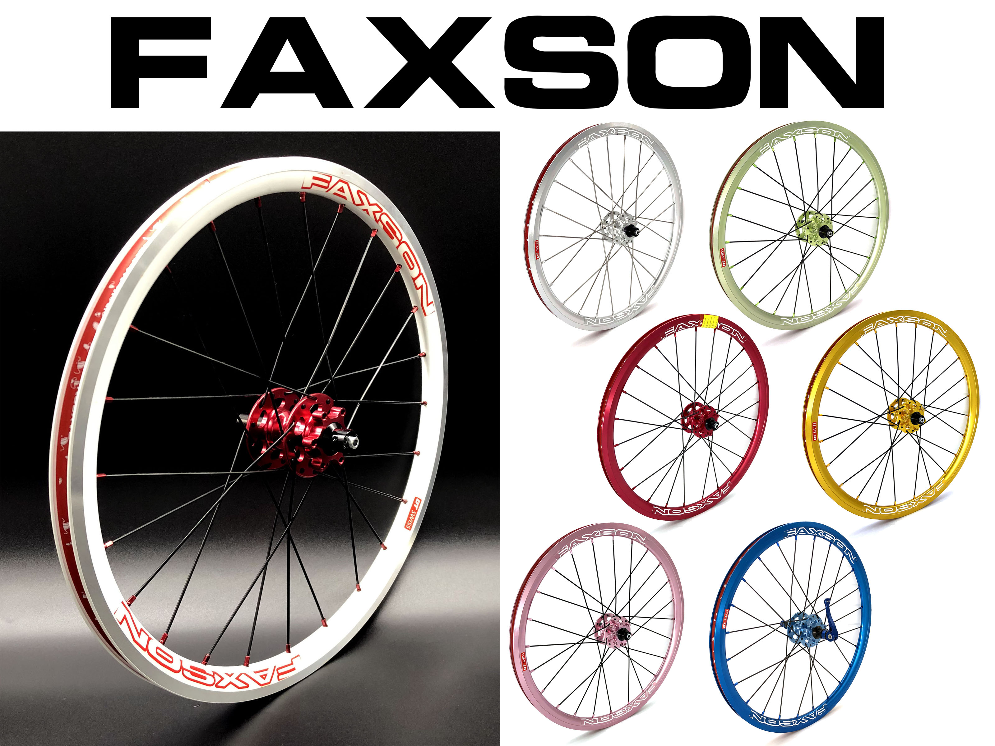 Faxson colorful Wheelset (Disc Brake) for Birdy upgrade to 20  only